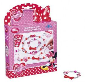 Minnie Mouse Glossy Jewellery
