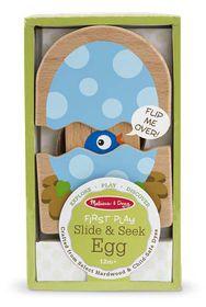 Melissa & Doug New Baby Slide and Seek Egg