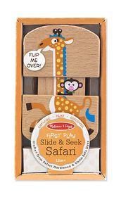 Melissa & Doug New Baby Slide and Seek Safari