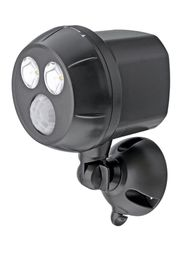 Mr Beams - Ultra Bright LED Wireless Motion Sensor Spotlight - Black