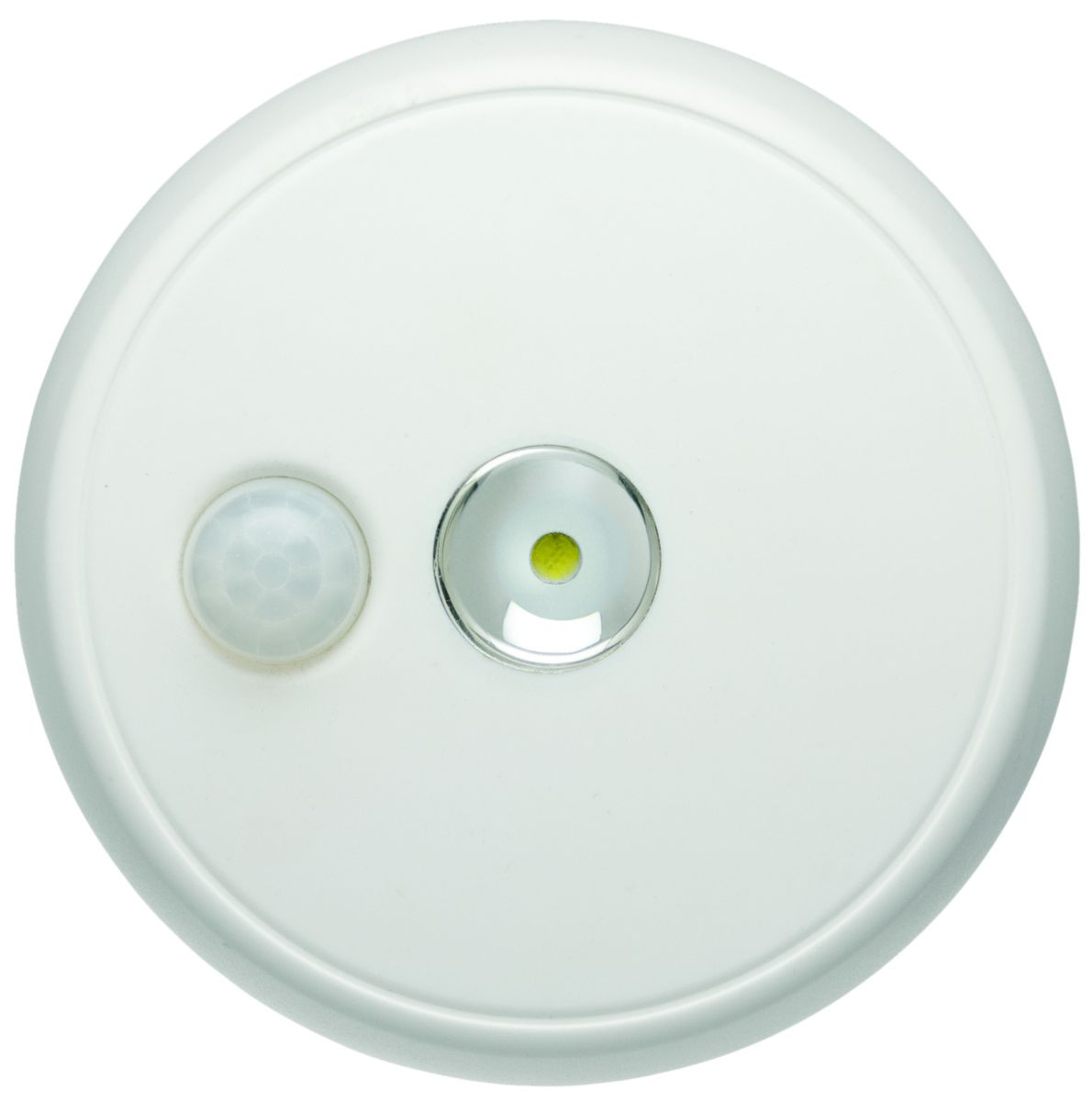 Led Ceiling Lights With Sensor: Mr Beams - Wireless Motion Sensor Led Ceiling Light - White
