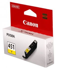 Canon CLI-451Y Yellow Single Ink Cartridge