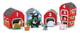 Melissa & Doug Nesting & Sorting Barns & Animals