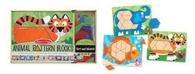 Melissa & Doug Animal Pattern Block Set