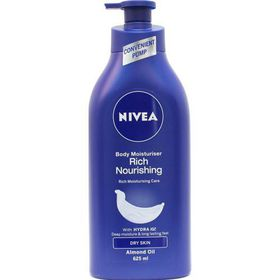 Nivea Rich Nourishing Body Moisturiser - 625ml