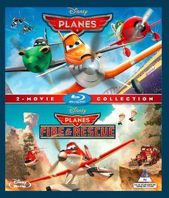 Walt Disney's  Planes 1 & Planes 2: Fire & Rescue (Blu-ray)