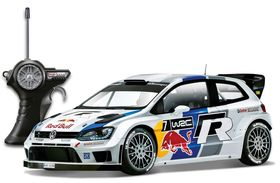 Maisto 1/24 Radio Control Red Bull VW Polo WRC
