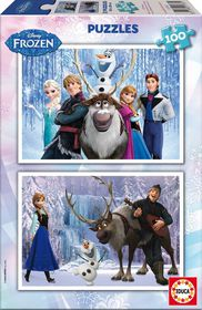 Frozen Puzzle (2 x 100pc)