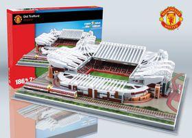 Old Trafford Stadium 3D Puzzle 186pcs (Manchester United)
