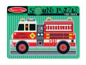 Melissa & Doug Fire Truck - 9 Piece
