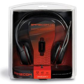 Plantronics GameCom 318 Stereo Gaming Headset - Black