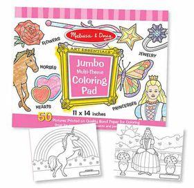 Melissa & Doug Jumbo Pad - Pink