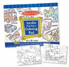 Melissa & Doug Jumbo Pad - Blue