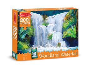 Melissa & Doug Woodland Waterfall Jigsaw Puzzle - 200 Piece