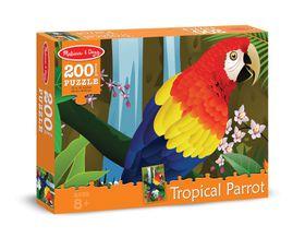 Melissa & Doug Tropical Parrot Jigsaw Puzzle - 200 Piece