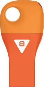 Emtec D300 Car Key USB 2.0 Flash Drive 8GB - Orange