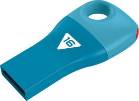 Emtec D300 Car Key USB 2.0 Flash Drive 16GB - Blue