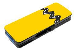 Emtec M710 2D Zig Zag USB 2.0 Flash Drive - 8GB