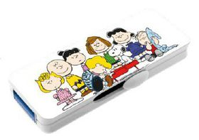 Emtec M710 2D Peanuts Group USB 2.0 Flash Drive - 8GB