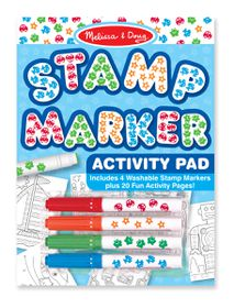 Melissa & Doug Stamp Marker Activity Pad - Blue