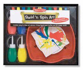 Melissa & Doug Swirl N Spin Art