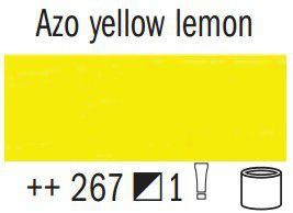 Van Gogh Oil Colour 60ml Tube - Azo Yellow Lemon (267)