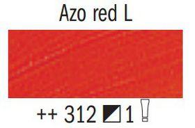 Van Gogh Oil Colour 60ml Tube - Azo Red L (312)