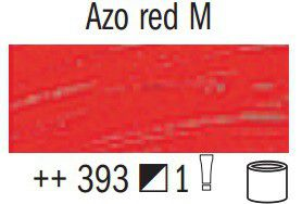 Van Gogh Oil Colour 60ml Tube - Azo Red M (393)