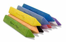 Melissa & Doug Jumbo Triangular Chalk Sticks - 10 Piece