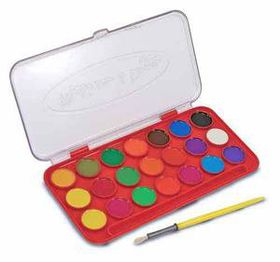 Melissa & Doug Deluxe Watercolour Paint set - 21 Colours