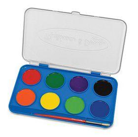 Melissa & Doug Jumbo Watercolour Paint Set - 8 Colours