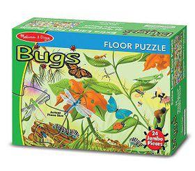 Melissa & Doug Bugs Floor Puzzle - 24 Piece