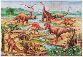 Melissa & Doug Dinosaurs Floor - 48 Piece