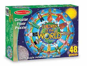 Melissa & Doug Children Around the World - 48 Piece