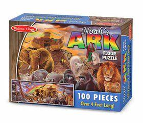 Melissa & Doug Noah's Ark Floor Puzzle - 100 Piece