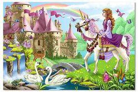 Melissa & Doug Fairy Tale Castle - 48 Piece