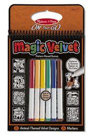 Melissa & Doug Magic Velvet - Animal