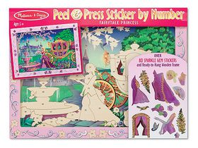Melissa & Doug Sticker by Number - Fairytale