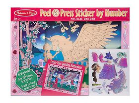 Melissa & Doug Sticker by Number - Mystical Unicorn