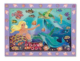 Melissa & Doug Sticker by Number - Mermaid Reef