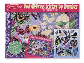Melissa & Doug Peel & Press - Butterfly Scene