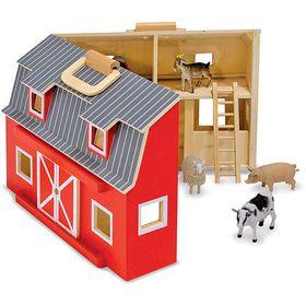 Melissa & Doug Fold & Go Mini Barn