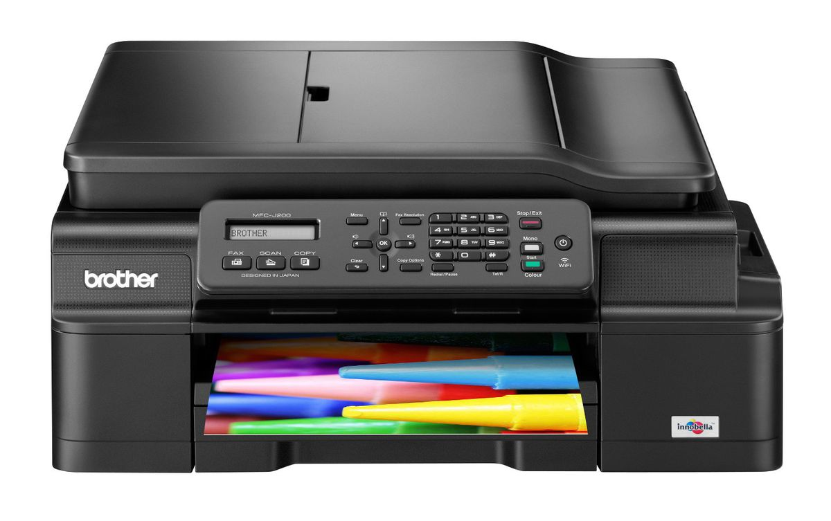 how to connect brother mfc printer to wifi
