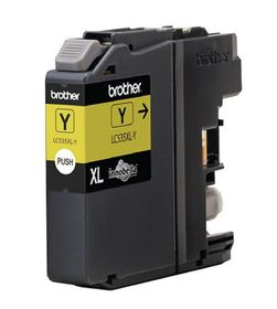 Brother LC535XLY High Yield Yellow Ink Cartridge