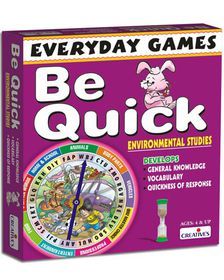 Creatives Toys Everyday Games - Be Quick Environmental Studies