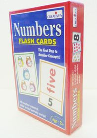 Creatives Toys Flash Cards - Numbers