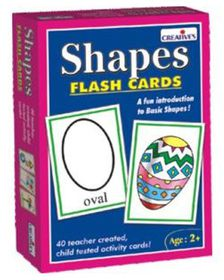 Creatives Toys Flash Cards - Shapes