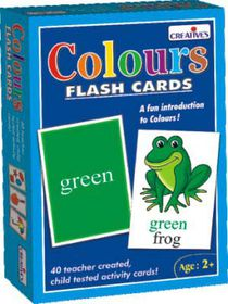 Creatives Toys Flash Cards - Colours