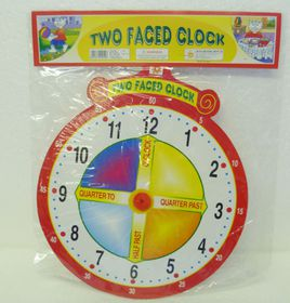 Creatives Toys Two Faced Clock