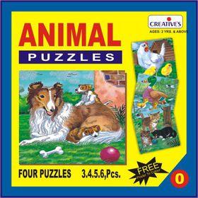 Creatives Toys Animal Puzzle No.0